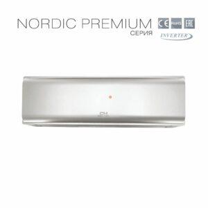 Кондиционер Cooper&Hunter Nordic Premium (Silver) CH-S12FTXN-PS
