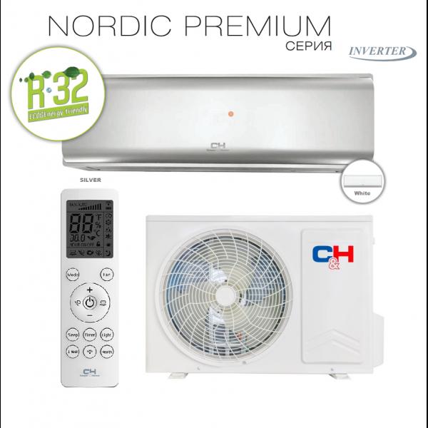 Кондиционер Cooper&Hunter Nordic Premium (Silver) CH-S09FTXN-PS
